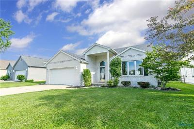 Perrysburg Single Family Home For Sale: 7014 Twin Lakes Road