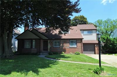 Ottawa Hills, Monclova, Oregon, Rossford, Swanton, Berkey, Metamora, Lyons, Whitehouse, Waterville Single Family Home For Sale: 3448 Indian Road