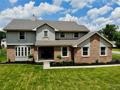 Maumee Single Family Home Contingent: 6208 Wexford Court