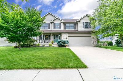 Maumee Single Family Home For Sale: 4146 Herdmans Circle