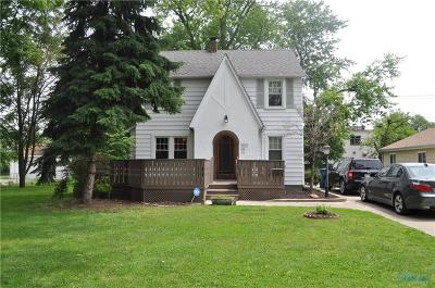 Toledo Single Family Home For Sale: 1041 Metcalf Road