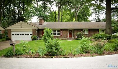 Toledo Single Family Home For Sale: 2936 Redington Woods Road