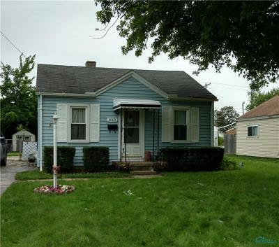 Toledo Single Family Home For Sale: 835 W Northgate Parkway