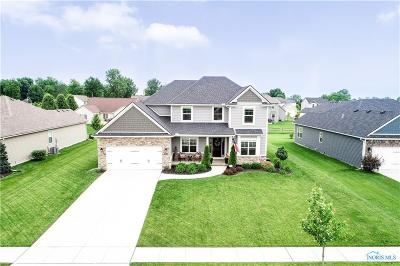Maumee Single Family Home Contingent: 7645 Indian Town Road
