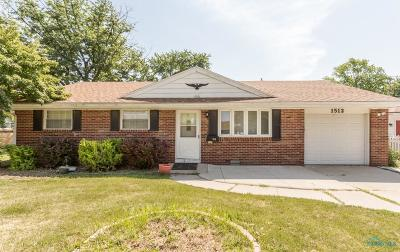 Maumee Single Family Home For Sale: 1512 Wilderness Drive