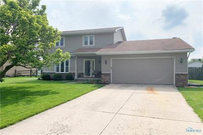 Maumee Single Family Home Contingent: 1729 Ashfield Drive