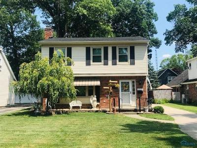 Toledo Single Family Home For Sale: 5344 Talmadge Road