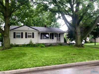 Maumee Single Family Home For Sale: 1113 Hunt Street