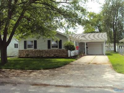 Bryan OH Single Family Home Contingent: $119,500