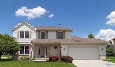 Perrysburg Single Family Home For Sale: 1893 Crossfields Road