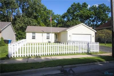 Sylvania OH Single Family Home For Sale: $173,900