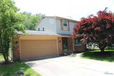 Toledo Single Family Home Contingent: 4309 N Terrace View Street