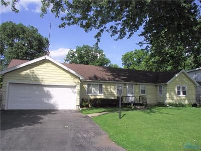 Toledo OH Single Family Home For Sale: $67,500