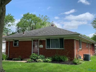 Maumee Single Family Home For Sale: 1004 Birch Avenue