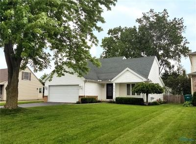 Perrysburg Single Family Home Contingent: 7432 Twin Lakes Road