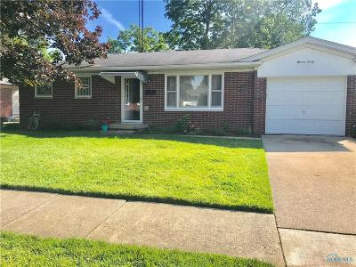 Maumee Single Family Home For Sale: 1130 Rosedale Street