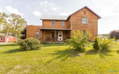 Ottawa Hills, Monclova, Oregon, Rossford, Swanton, Berkey, Metamora, Lyons, Whitehouse, Waterville Single Family Home For Sale: 11745 Waterville Swanton Road