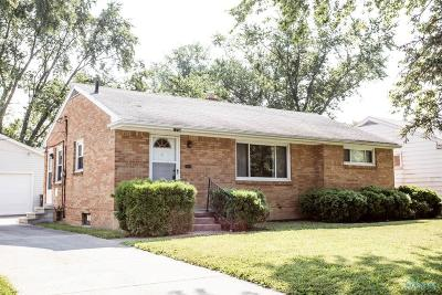 Maumee Single Family Home For Sale: 1228 Rosedale Street