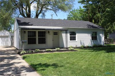 Maumee Single Family Home Contingent: 1437 Bradshaw Court