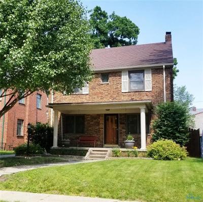 Toledo Single Family Home For Sale: 3508 Harley Road