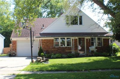 Maumee Single Family Home Contingent: 1438 Wilderness Drive