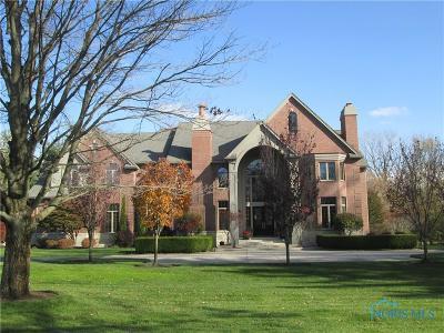 Ottawa Hills, Monclova, Oregon, Rossford, Swanton, Berkey, Metamora, Lyons, Whitehouse, Waterville Single Family Home For Sale: 5909 Davis Road