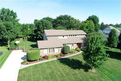 Perrysburg Single Family Home Contingent: 9551 Sheffield Road