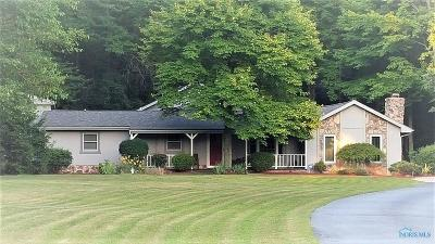 Swanton Single Family Home For Sale: 1627 S Berkey Southern Road