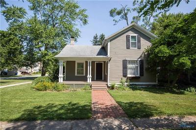 Perrysburg Single Family Home Contingent: 403 E 5th Street