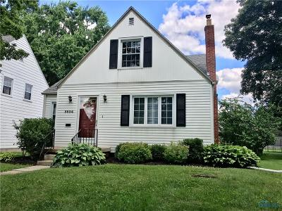 Toledo Single Family Home For Sale: 3824 Drummond Road