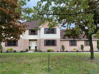Perrysburg Single Family Home For Sale: 27360 Fort Meigs Road