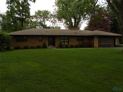 Maumee Single Family Home For Sale: 1741 South Holland Slvania Road