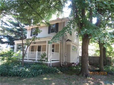 Toledo Single Family Home For Sale: 1836 Penn Road