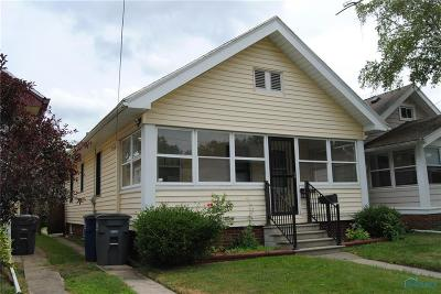 Toledo OH Single Family Home For Sale: $44,900