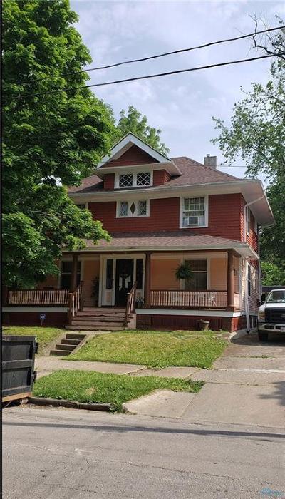 Toledo Single Family Home For Sale: 627 Islington Street