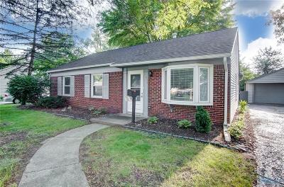 Sylvania OH Single Family Home For Sale: $164,500