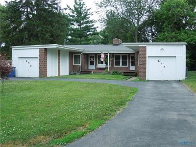Perrysburg Multi Family Home For Sale: 548 E 5th Street