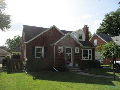 Toledo OH Single Family Home Contingent: $132,900