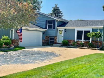 Maumee Single Family Home Contingent: 6565 Meadowcroft Lane