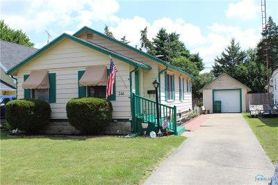 Rossford Single Family Home For Sale: 244 Jennings Road