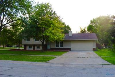 Maumee Single Family Home Contingent: 2526 Anthony Lane