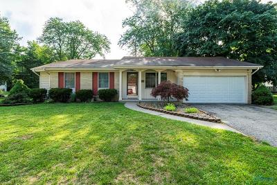 Sylvania Single Family Home Contingent: 4702 Charlesgate Road