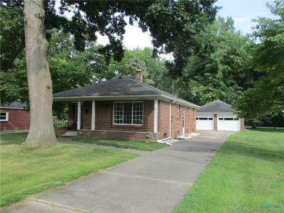 Toledo OH Single Family Home For Sale: $120,000