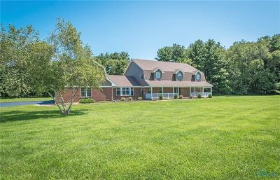 Swanton Single Family Home For Sale: 3465 Waterville Swanton Road