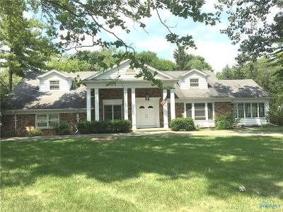 Toledo Single Family Home For Sale: 3826 Corey Road
