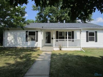 Maumee Single Family Home Contingent: 1278 Kirk Street