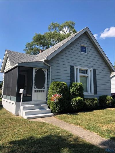 Maumee Single Family Home Contingent: 505 W William Street