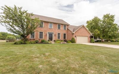 Lucas County Single Family Home For Sale: 549 Quail East Drive