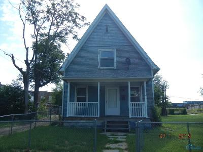 Toledo OH Single Family Home For Sale: $14,900