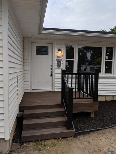 Maumee OH Single Family Home Contingent: $129,900